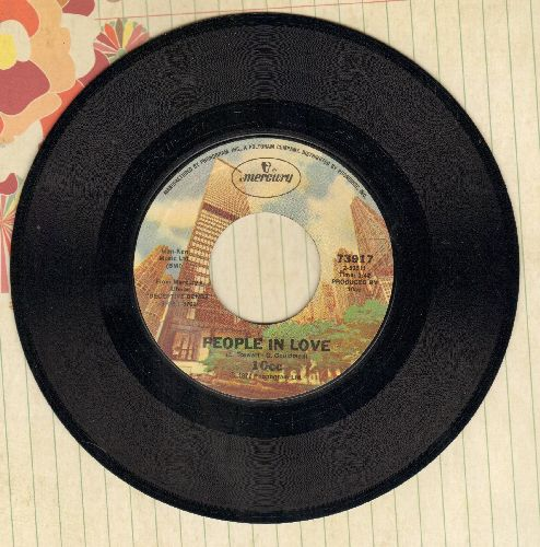 10 CC - People In Love/Don't Sqeeze Me Like Toothpaste - M10/ - 45 rpm Records