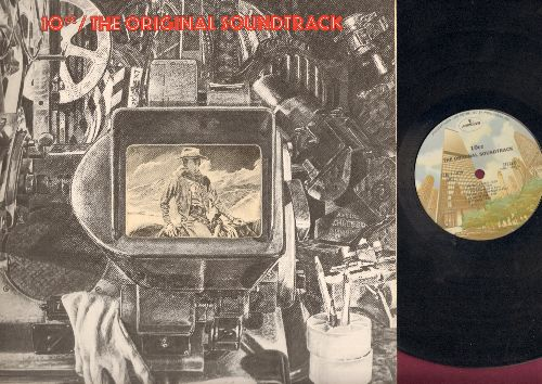 10cc - The Original Soundtrack: I'm Not In Love, Blackmail, Brand New Day, The Film Of My Love (vinyl STEREO LP record, gate-fold cover) - EX8/EX8 - LP Records
