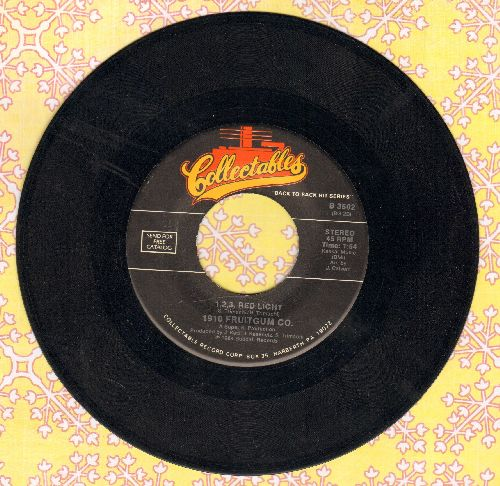 1910 Fruitgum Co. - 1, 2, 3 Red Light/Simon Says (double-hit re-issue) - NM9/ - 45 rpm Records