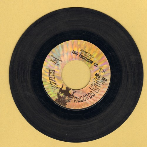 1910 Fruitgum Co. - Simon Says/Reflections From The Looking Glass - VG6/ - 45 rpm Records