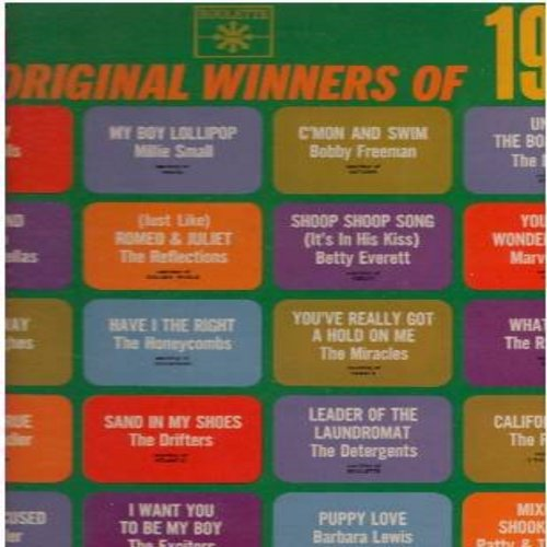 Drifters, Millie Small, Raindrops, Barbara Lewis, others - 20 Original Winners Of 1964: Under The Boardwalk, My Boy Lollipop, California Sun, Have I The Right, C'Mon And Swim, I Stand Accused, Shoop Shoop Song (It's In His Kiss), Quicksand (vinyl STEREO L