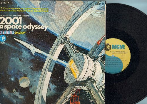2001 Space Oddyssey - 2001 Space Odyssey - Music From The Motion picture Sound Track (vinyl STEREO LP record, gate-fold cover first issue) - NM9/NM9 - LP Records