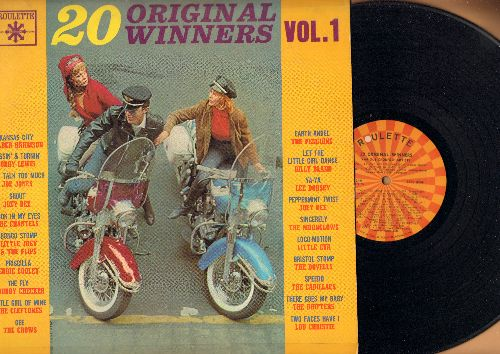 Harrison, Wilber, Crows, Joey Dee, Dovells, Penguins, Little Eva, others - 20 Original Winners Vol. 1: Earth Angel, Loco-Motion, Speedo, Gee, Shout, You Talk Too Much (vinyl MONO LP record) - NM9/VG6 - LP Records