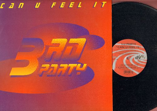 3rd Party - Can You Feel It? - 12 inch vinyl Maxi Single featuring 4 Extended Dance Club Mixes (with picture cover) - NM9/ - Maxi Singles