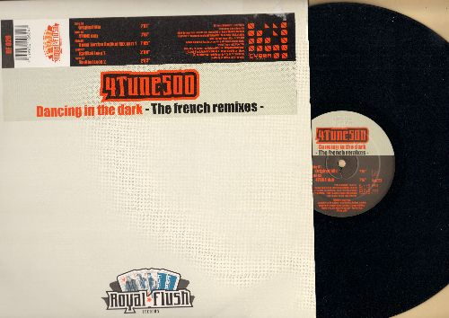 4 Tune 500 - Dancing In The Dark (The French Remixes - 5 Tracks on 12 inch vinyl Maxi Single, EU Pressing) - NM9/NM9 - Maxi Singles