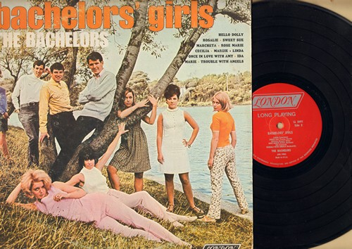 Bachelors - Bachelors' Girls: Hello Dolly, Linda, Cecilia, Trouble With Angels, Margie (vinyl MONO LP record) - EX8/VG7 - LP Records