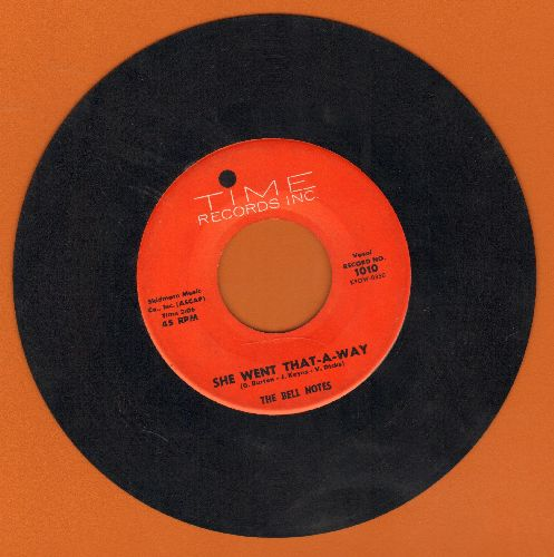Bell Notes - She Went That-A-Way/Old Spanish Town - EX8/ - 45 rpm Records