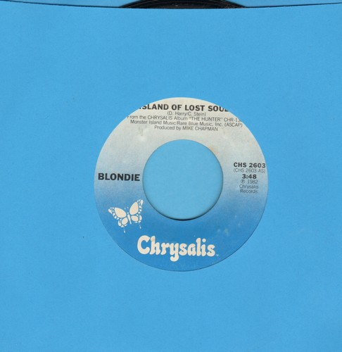 Blondie - Island Of Lost Souls/Dragonfly  - NM9/ - 45 rpm Records