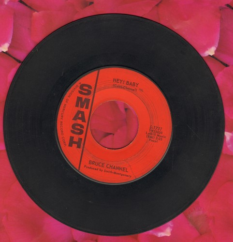 Channel, Bruce - Hey! Baby/Dream Girl  - VG7/ - 45 rpm Records