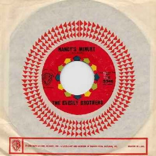 Everly Brothers - Nancy's Minuet/So It Always Will Be (with vintage Warner Brothers company sleeve) - NM9/ - 45 rpm Records