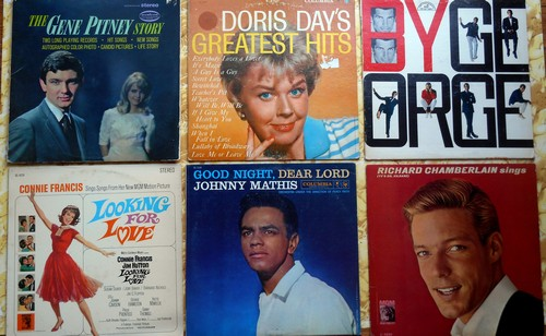 LP Cover 6-Pack - Set #6 includes 6 Vintage LP covers (NO records!) - Exactly as pictured, great for decoration or as replacement covers.  - VG7/ - Supplies