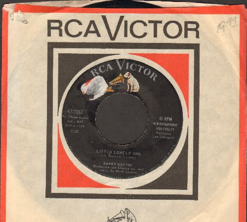 Martin, Barry - Little Lonely One/Are You Sure? (with vintage RCA company sleeve)(sol) - NM9/ - 45 rpm Records