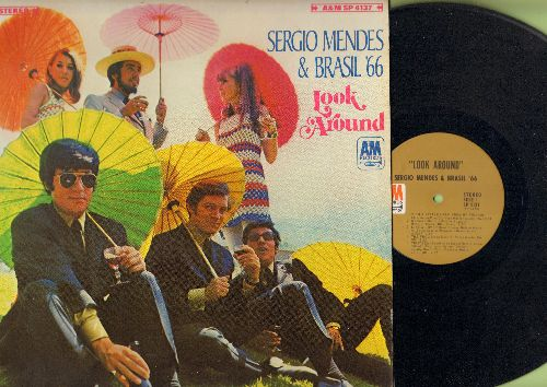 Mendes, Sergio & Brazil '66 - Look Around: With A Little Help From My Friend, The Look Of Love, Tristeza, Batucada, Roda (vinyl STEREO LP record) - EX8/EX8 - LP Records