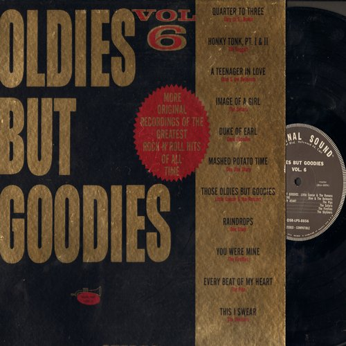 Little Ceasar & The Romans, Skyliners, Fireflies, Safaris, Dee Dee Sharp, others - Oldies But Goodies Vol. 6: Those Oldies But Goodies, Duke Of Earl, Mashed Potato Time, Raindrops (vinyl STEREO LP record) - NM9/NM9 - LP Records