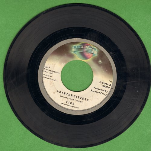 Pointer Sisters - Fire/Love Is Like A Rolling Stone - VG7/ - 45 rpm Records