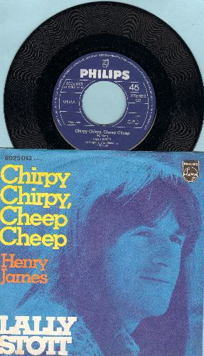 Stott, Lally - Chirpy Chirpy, Cheep Cheep/Henry James (German Pressing with picture sleeve) - NM9/NM9 - 45 rpm Records