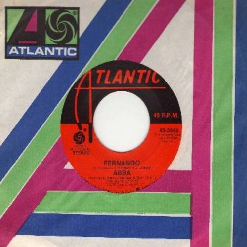 ABBA - Fernando/Rock Me (Atlantic company sleeve and juke box label) - NM9/ - 45 rpm Records
