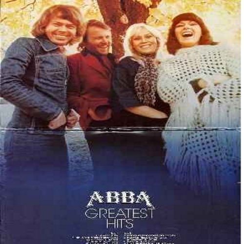 ABBA - Greatest Hits: SOS, Waterloo, Honey Honey, Nina Pretty ballerina, Fernando, Mamma Mia, I Do I Do I Do I Do I Do, Ring Ring (vinyl STEREO LP record) - NM9/VG7 - LP Records