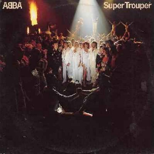 ABBA - Super Trouper: The Winner Takes It All, Happy New Year, Our Last Summer, The Piper, Lay All Your Love On Me (vinyl STEREO LP record)  - EX8/EX8 - LP Records