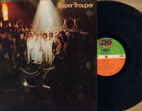 ABBA - Super Trouper: The Winner Takes It All, Happy New Year, Our Last Summer, The Piper, Lay All Your Love On Me (vinyl STEREO LP record)  - NM9/NM9 - LP Records
