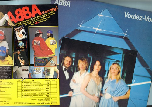 ABBA - Voulez-Vous: I Have A Dream, If It Wasn't For The Nights, Does Your Mother Know, Chiquitita, Kisses Of Fire, Angeleyes (vinyl STEREO LP record with BONUS order sheet for ABBA merchandise) - M10/NM9 - LP Records