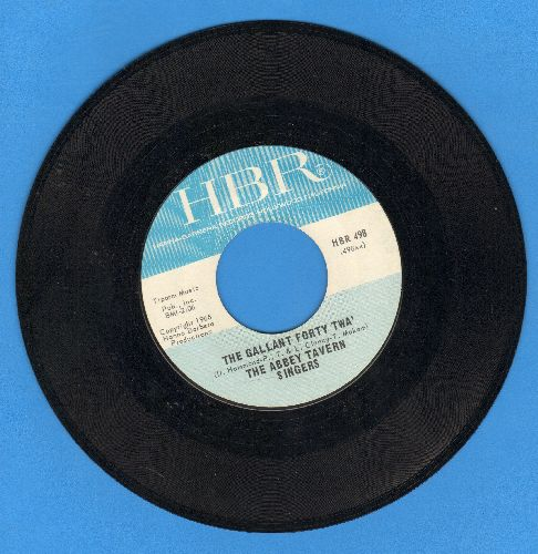 Abbey Tavern Singers - The Gallant Forty Twa'/Off To Dublin In The Green - NM9/ - 45 rpm Records