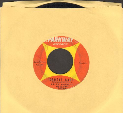 Abbott, Billy & The Jewels - Groovy Baby/Come On And Dance With Me (wol) - VG7/ - 45 rpm Records