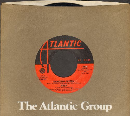 ABBA - Dancing Queen/That's Me (with Atlantic company sleeve) - EX8/ - 45 rpm Records