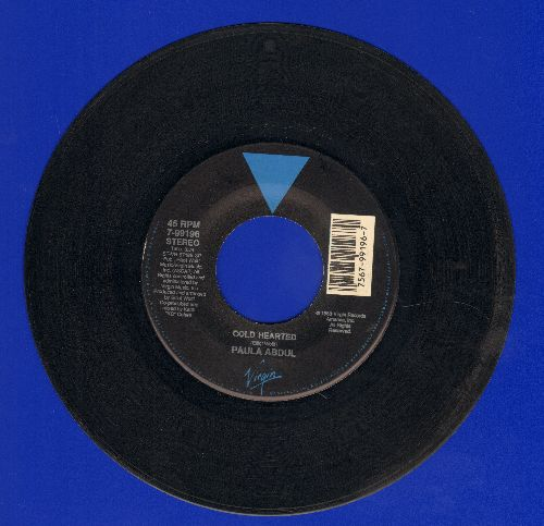 Abdul, Paula - Cold Hearted/One Or The Other - EX8/ - 45 rpm Records