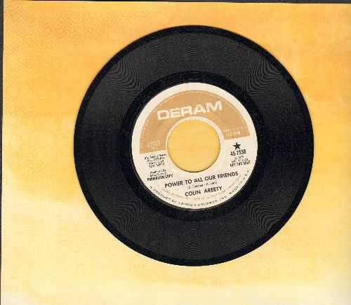 Areety, Colin - Power To All Our Friends/That's What You Mean To Me (DJ advance pressing) - NM9/ - 45 rpm Records