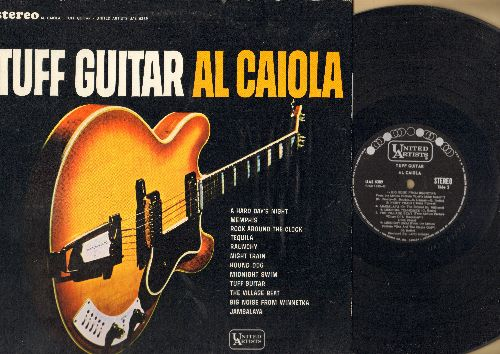 Caiola, Al - Tuff Guitar: A Hard Day's Night, Tequila, Hound Dog, Jambalaya, Rock Around The Clock, Memphis (vinyl STEREO LP record, Canadian Pressing) - NM9/NM9 - LP Records
