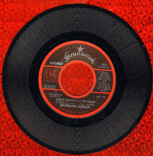 Acklin, Barbara - Love Makes A Woman/Soulful Strut (double-hit re-issue) - M10/ - 45 rpm Records