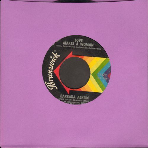 Acklin, Barbara - Love Makes A Woman/Come And See Me Baby - EX8/ - 45 rpm Records