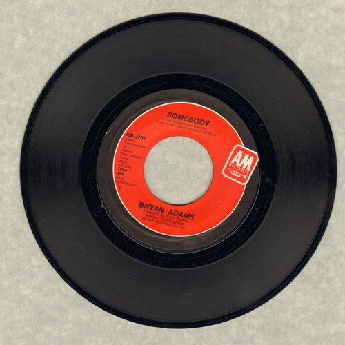 Adams, Bryan - Somebody/Long Gone  - NM9/ - 45 rpm Records