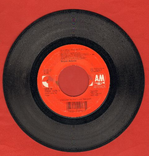 Adams, Bryan - (Everything I Do) I Do It For You (from film Robin Hood Prince Of Thieves)  - VG7/ - 45 rpm Records