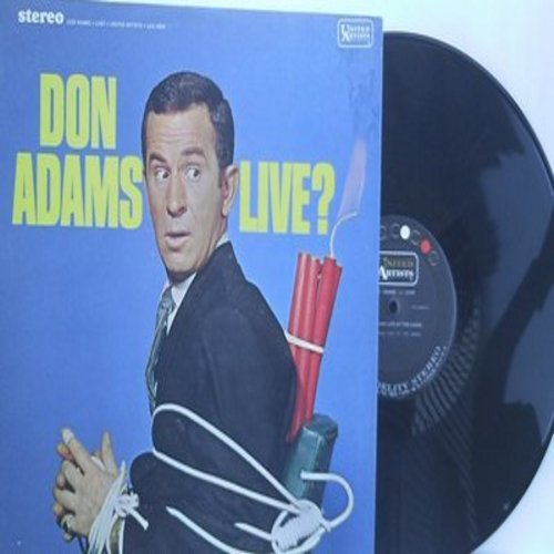 Adams, Don - Don Adams - Live? (vinyl STEREO LP record) - M10/NM9 - LP Records