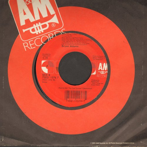 Adams, Bryan - (Everything I Do) I Do It For You (from film Robin Hood Prince Of Thieves)  - EX8/ - 45 rpm Records