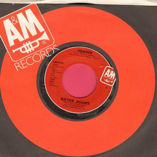 Adams, Bryan - Heaven/Heaven (Live) - NM9/ - 45 rpm Records