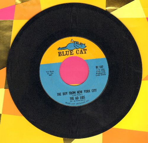 Ad Libs - The Boy From New York City/Kicked Around - EX8/ - 45 rpm Records
