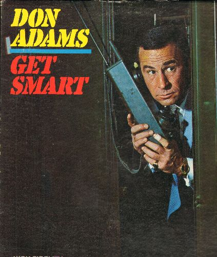 Adams, Don - Get Smart - from the 1960s Cult TV Series (vinyl MONO LP record) - EX8/VG7 - LP Records