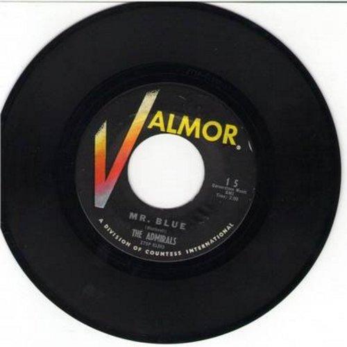 Admirals - Mr. Blue/Star Of Hawaii - EX8/ - 45 rpm Records