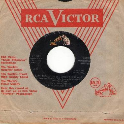 Adrian, Lee & Orchestra & Chorus - 26 Men/Love Theme From The Brothers Karamazov (with RCA company sleeve) - EX8/ - 45 rpm Records