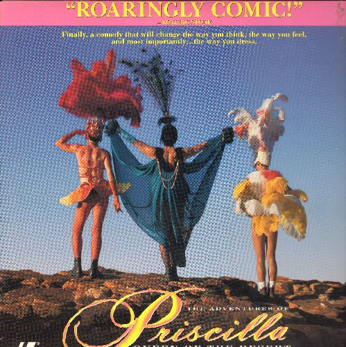 Adventures Of Priscilla Queen Of The Desert - Adventures Of Priscilla Queen Of The Desert Laser Disc  - NM9/EX8 - Laser Discs