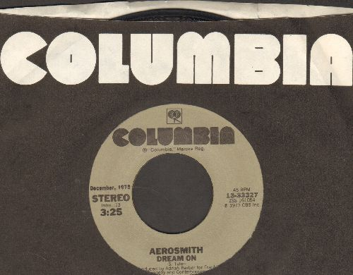 Aerosmith - Dream On/Sweet Emotion (re-issue with Columbia company sleeve) - EX8/ - 45 rpm Records