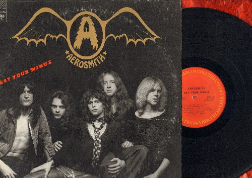 Aerosmith - Get Your Wings: Lord Of The Thighs, Same Old Song And Dance, S.O.S. (So Bad), Pandora's Box, Seasons Of Wither (vinyl LP record) (reissue) - EX8/VG7 - LP Records