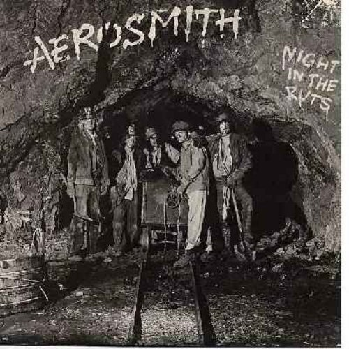 Aerosmith - Night In The Ruts: Remember (Walking In The Sand), Reefer Head Woman, Cheese Cake, Chiquita, Three Mile Smile (vinyl STEREO LP record) - NM9/NM9 - LP Records