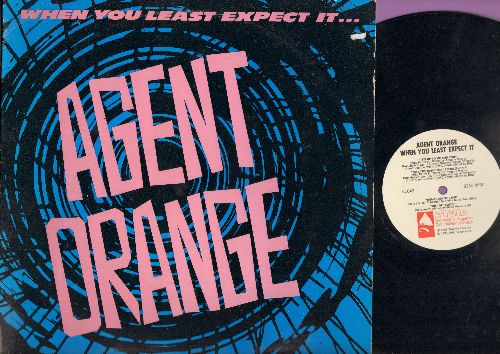 Agent Orange  - Whe You Last Expect It: It's Up To Me And You, Bite The Hand That Feeds/Somebody To Love/Out Of Limits (12 inch vinyl Maxi Single with picture cover) - NM9/EX8 - Maxi Singles