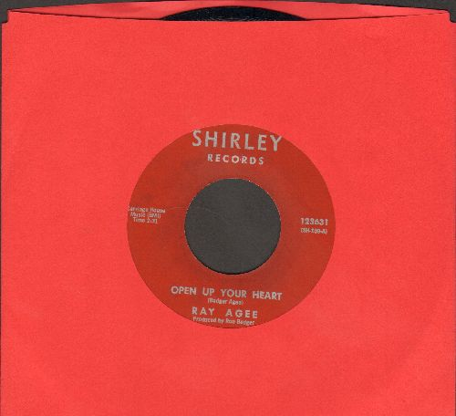Agee, Ray - Open Up Your Heart/The Gamble - NM9/ - 45 rpm Records