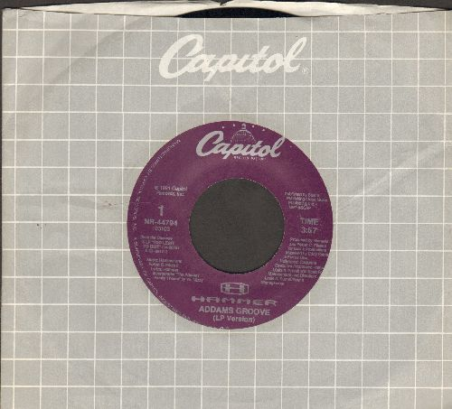 Hammer - Addams Groove (LP version + Instrumental) (with Capitol company sleeve) - EX8/ - 45 rpm Records