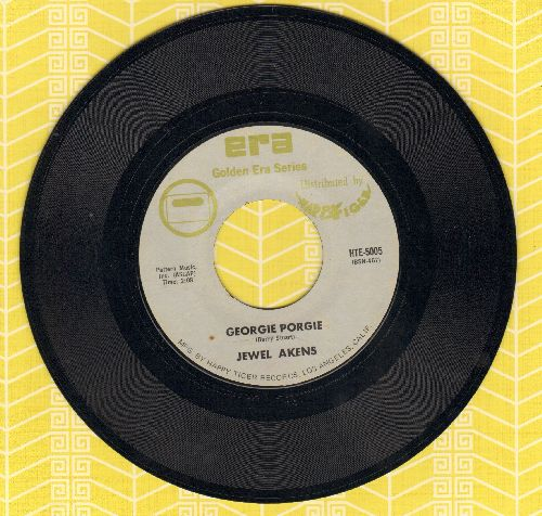 Akens, Jewel - The Birds And The Bees/Geogie Porgie (double-hit re-issue) - NM9/ - 45 rpm Records